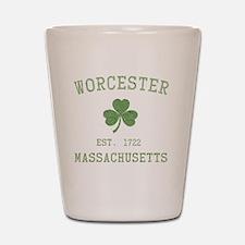 worcester-massachusetts Shot Glass