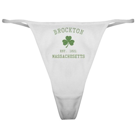 brockton-massachusetts Classic Thong