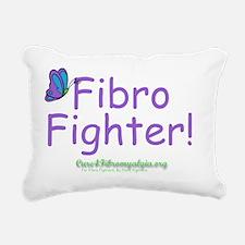 fighter Rectangular Canvas Pillow