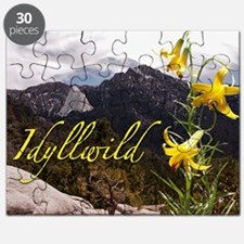 Grandmother Mountain and Lemon Lily Puzzle
