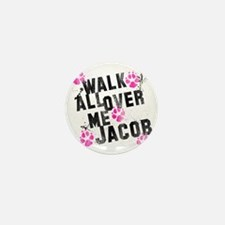walk all ovr me-wht Mini Button