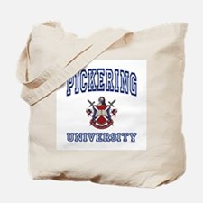 PICKERING University Tote Bag