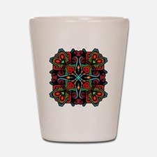 CP_mayanmandala4 Shot Glass