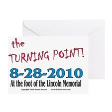 the TURNING POINT Greeting Card
