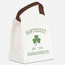 nantucket-massachusetts-irish Canvas Lunch Bag