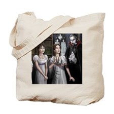 draculas library Tote Bag