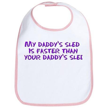 Daddy's Sled Bib