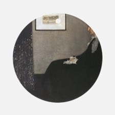 Whistlers Mother Round Ornament