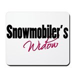Snowmobiler's Widow Mousepad