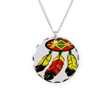 blk_Mandela_3_Feathers Necklace