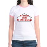 So Many Sleds Jr. Ringer T-Shirt