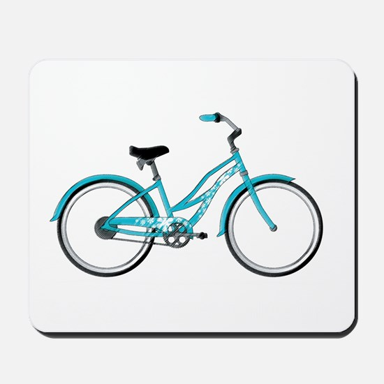 Happiness is a Beach Cruiser Mousepad