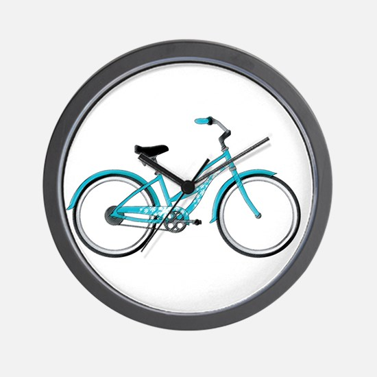 Happiness is a Beach Cruiser Wall Clock