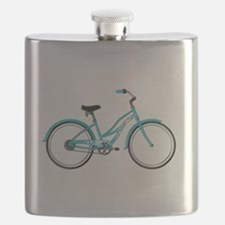Happiness is a Beach Cruiser Flask