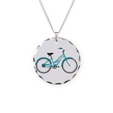 Happiness is a Beach Cruiser Necklace