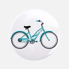 "Happiness is a Beach Cruiser 3.5"" Button"