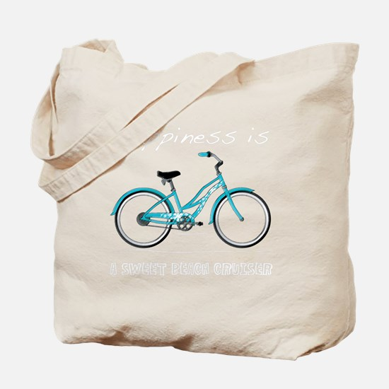 Happiness is a Beach Cruiser Tote Bag