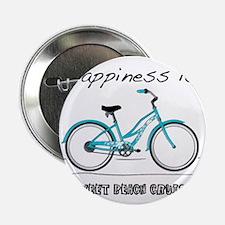 "Happiness is a Beach Cruiser 2 2.25"" Button"