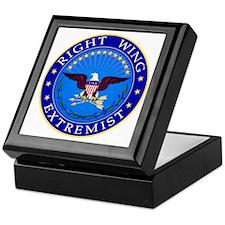Right Wing Extremist Keepsake Box