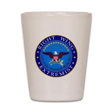 Right Wing Extremist Shot Glass