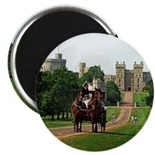 V-WindsorCastleLongWalk mousepad Magnet
