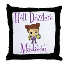 HoltDazzlersMMadison Throw Pillow
