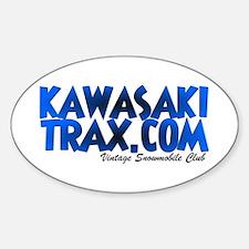 KawasakiTrax.com Logo Oval Decal