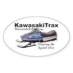 KawasakiTrax Oval Sticker