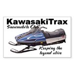 KawasakiTrax Rectangle Sticker