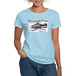 KawasakiTrax Women's Pink T-Shirt
