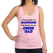Greek Dad Baby Shirt Racerback Tank Top