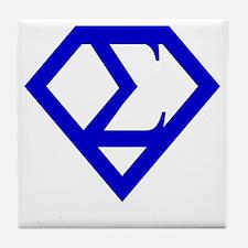 2-supersigma Tile Coaster