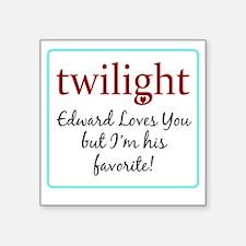 """edwardlovesyoub Square Sticker 3"""" x 3"""""""