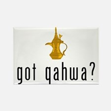 got qahwa? Rectangle Magnet