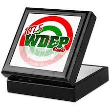 WDEP 1k Black Back Keepsake Box