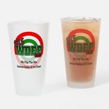 WDEP 1k White Back Drinking Glass