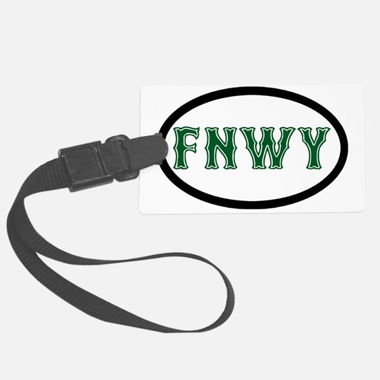 FenwayNeighborhood Luggage Tag