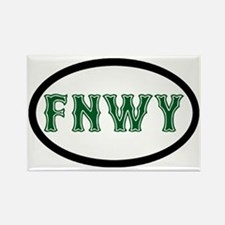 FenwayNeighborhood Rectangle Magnet