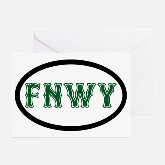 FenwayNeighborhood Greeting Card