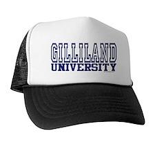 GILLILAND University Trucker Hat