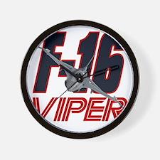 2-viper_front Wall Clock