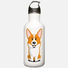 Pembroke-Corgi Water Bottle