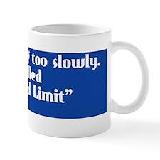 speedlimit-bumper Mug