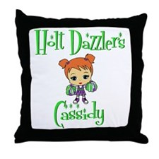 HoltDazzlersMC2 Throw Pillow