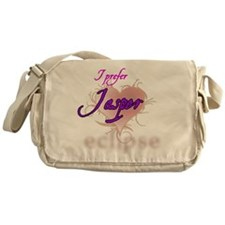 prefer jasper_wht Messenger Bag