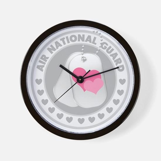 ANGLogoHearts Wall Clock