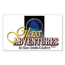 glass front Decal