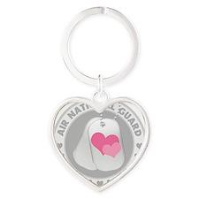 ANGLogoHearts Heart Keychain