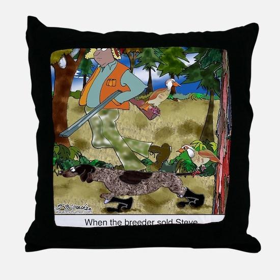 8485_dog_cartoon Throw Pillow