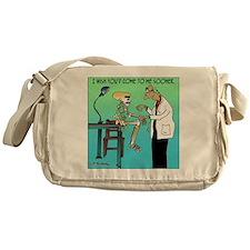 7659_medical_cartoon Messenger Bag